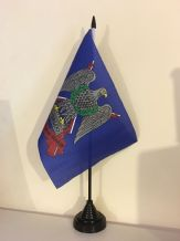 ROYAL SCOTS DRAGOONS TABLE FLAG (MEDIUM 22.5cm x 15cm)